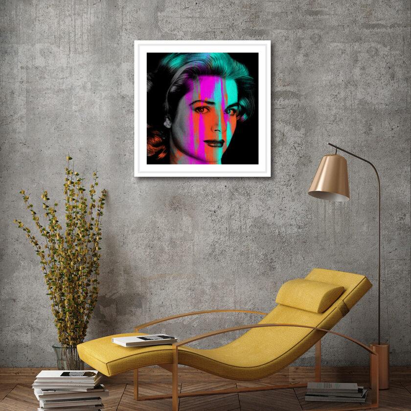 Grace Kelly Medium Framed