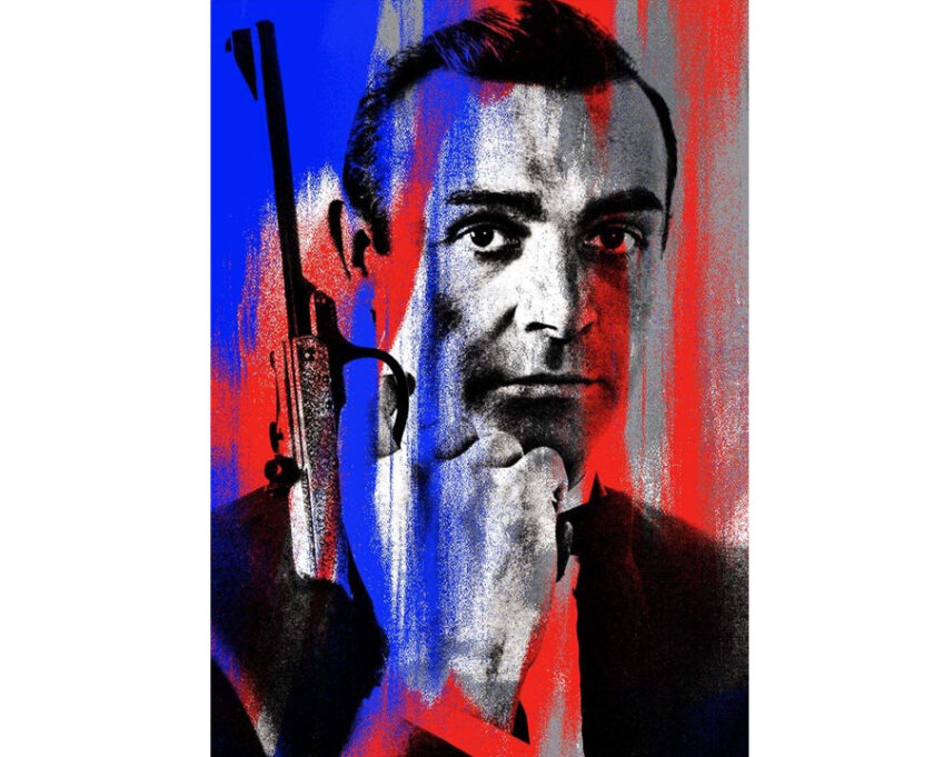 Sean Connery as James Bond 007