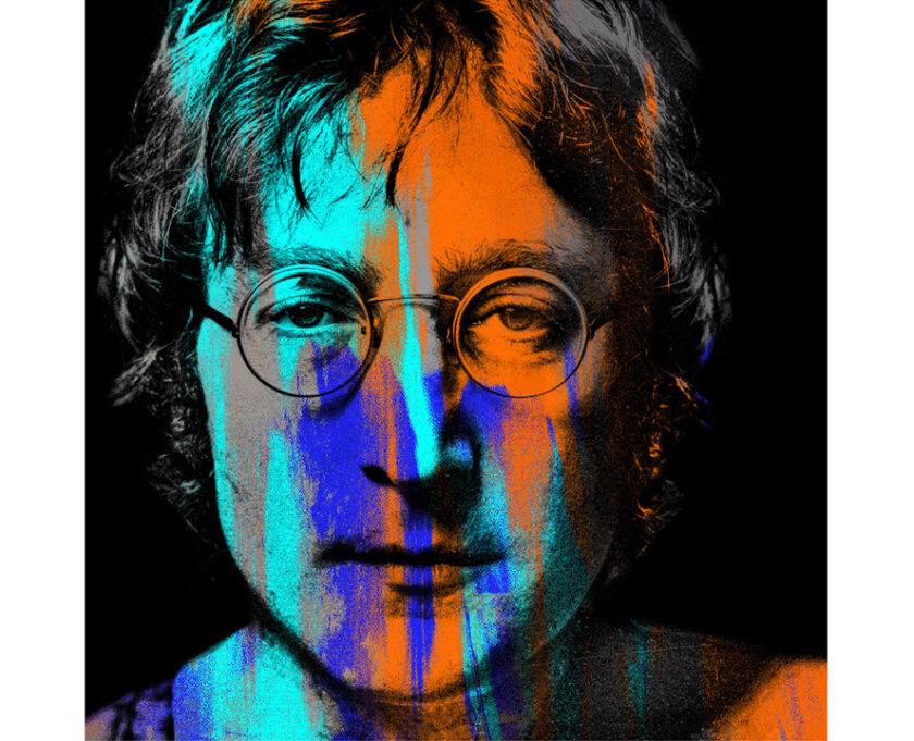 John Lennon Orange