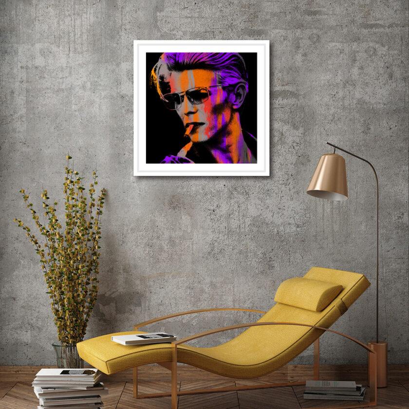 Orange Young Bowie Medium
